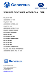 walkies motorola dmr
