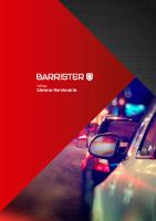 Barrister - Catálogo Cámaras Marcha atrás